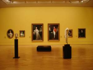 NGV - Regency Room - Installation View with portraits by Beechey
