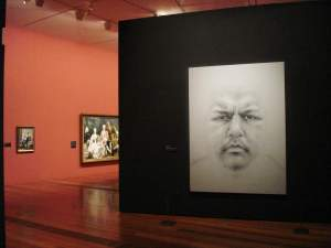 NGV - Naked Face - Installation View